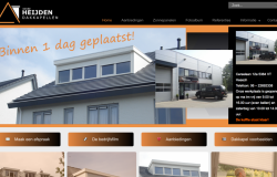 Nieuwe website is online